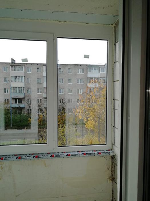 Гермитизация конструкции на балконе