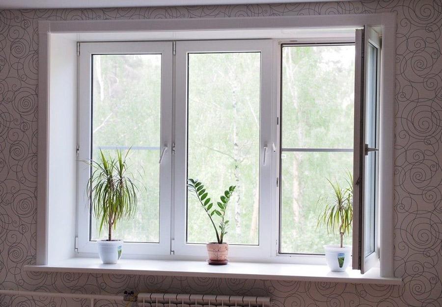 Окно на заказ в квартире
