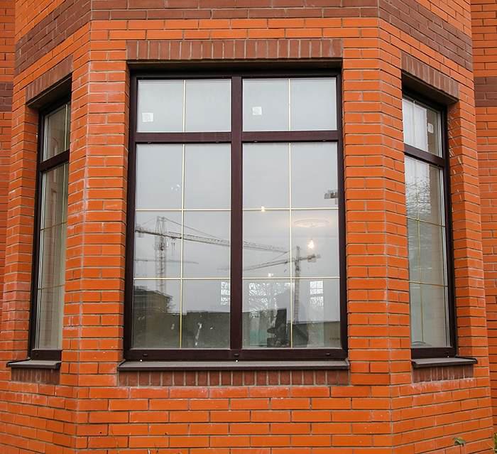 Ламинированное окно в Пушкино